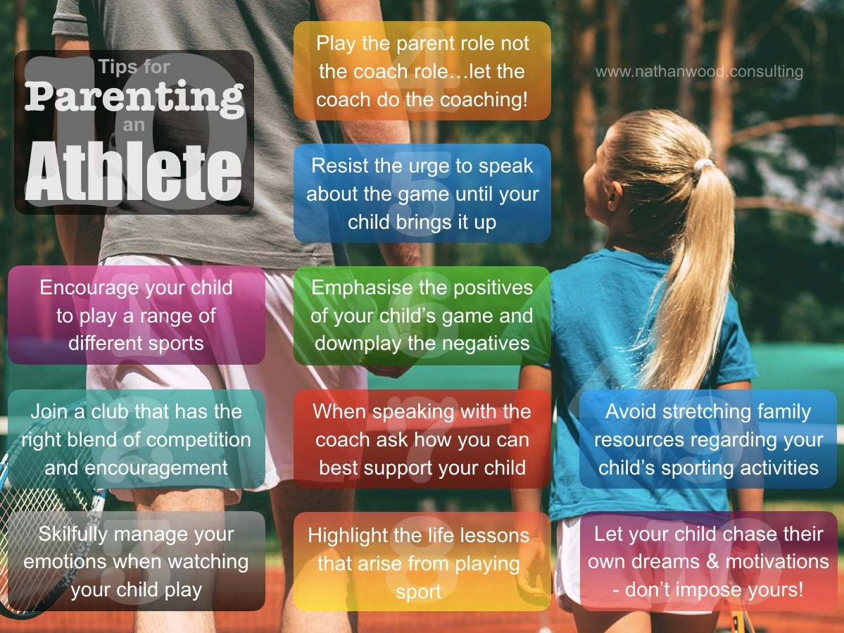 10 Tips for Parenting an Athlete | Nathan Wood Consulting