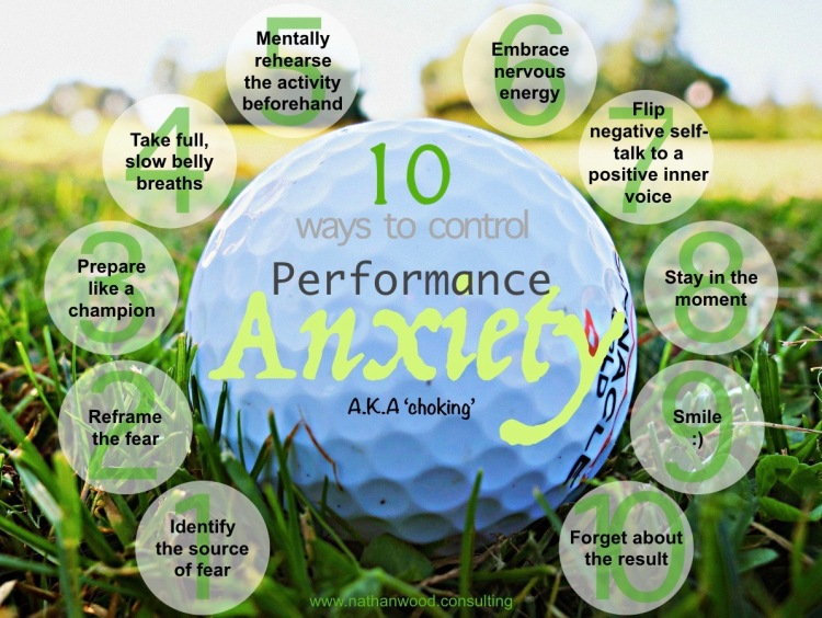 10 Ways To Control Performance Anxiety | Nathan Wood Consulting