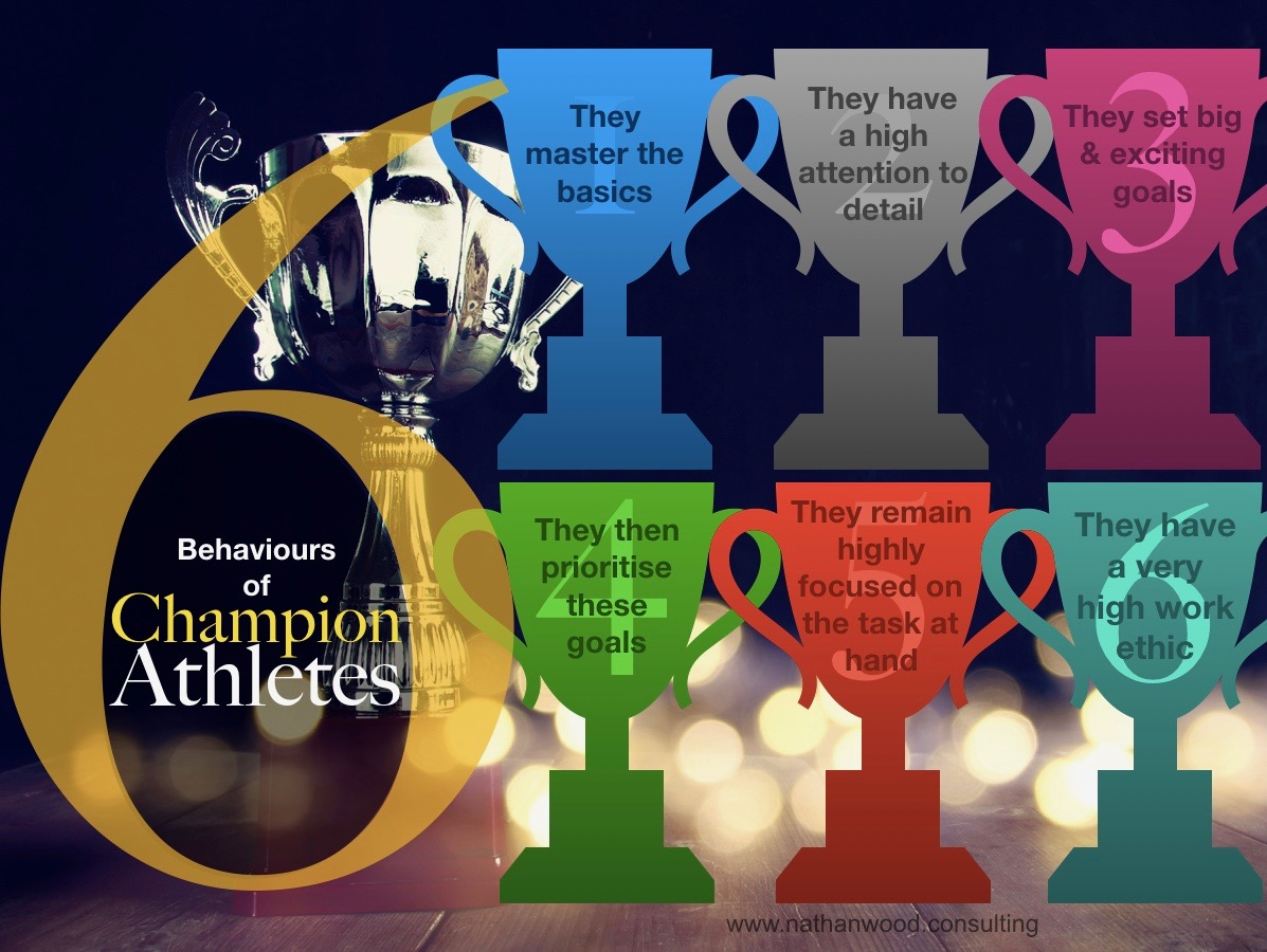 6 Behaviours of Champion Athletes | Nathan Wood Consulting