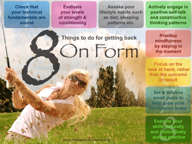 8 Things To Do For Getting Back On Form | Nathan Wood Consulting