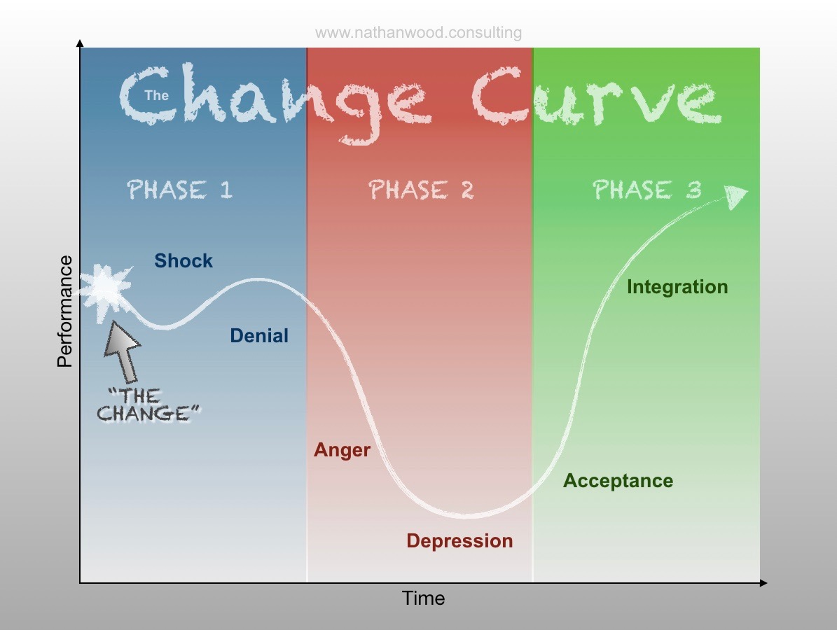 The Change Curve | Nathan Wood Consulting